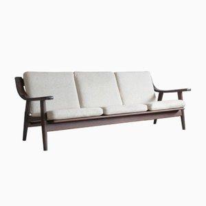 Vintage Modell GE-530/3 Sofa von Hans J. Wegner für Getama