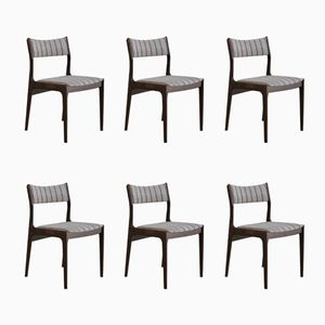 Danish Rosewood Chairs from Uldum Møbelfabrik, Set of 6