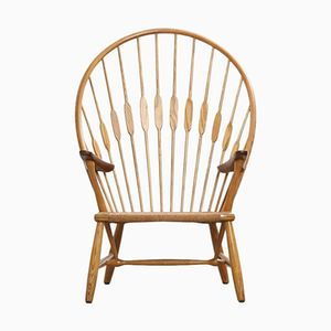Vintage Peacock Chair by Hans Wegner for Johannes Hansen