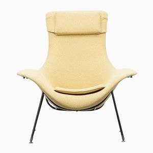 Vintage Lounge Chair by Augusto Bozzi for Saporiti