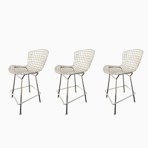 Bar Stools by Harry Bertoia for Knoll, 1980s, Set of 3