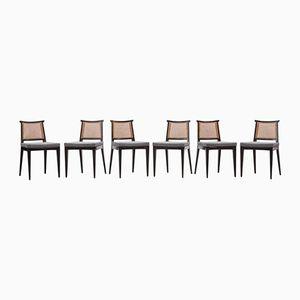 Vintage Stühle von Edward Wormley für Dunbar, 6er Set