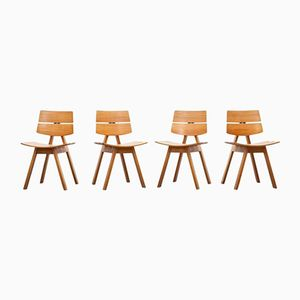 Vintage Chairs by Willy Guhl for Horgen Glarus, Set of 4