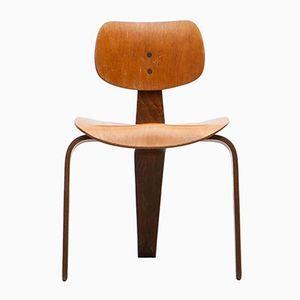 Chaise Vintage en Hêtre par Egon Eiermann pour Wilde + Spieth