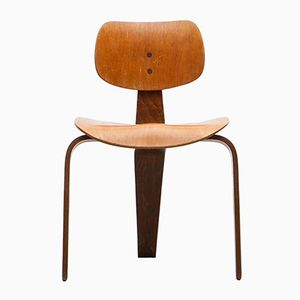 Vintage Chair in Beech by Egon Eiermann for Wilde + Spieth