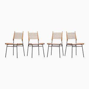 Ahorn Beistellstühle von Paul McCobb für Winchendon, 1950er, 4er Set