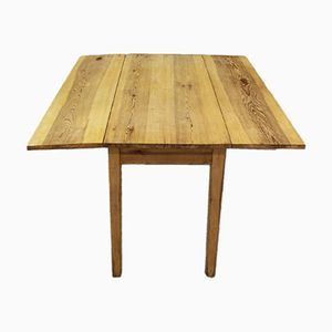 Swedish Vintage Drop-Leaf Table in Pine