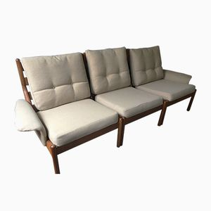 Danish Teak Modular Sofa by Niels Bach, 1960s