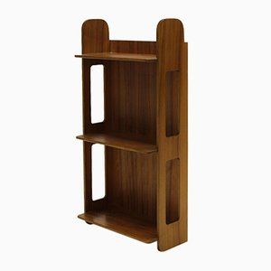 Model No. 2085 Wall Shelf in Walnut by Josef Frank for Firma Svensk Tenn