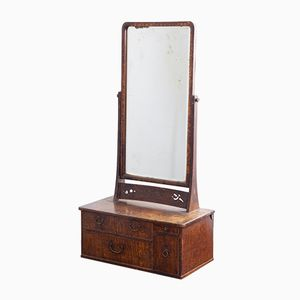 Dressing Table with Mirror, 1850s