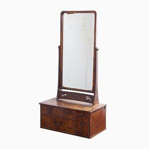 Frisierkommode mit Spiegel, 1850er