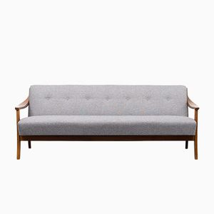 Daybed with Grey Upholstery, 1960s