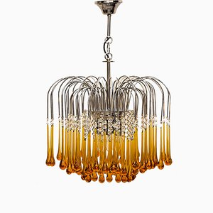 Murano Glass Chandelier by Paolo Venini, 1960s