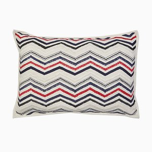 Mardi Grass Cushion by Jackie Villevoye for Jupe by Jackie