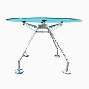 Nomos Dining Table by Sir Norman Foster for Tecno, 1980s