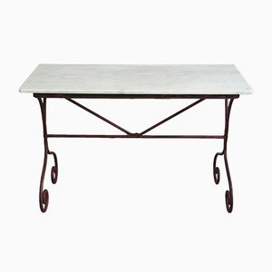 Vintage French Garden Table, 1890s