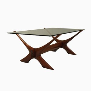 Condor Coffee Table by Fredrik Schriever-Abeln for Örebro Glas, 1960s