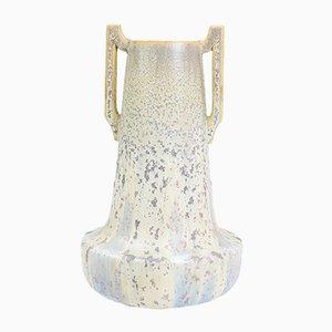 Französische Jugendstil Sandstein Vase von Jean Langlade