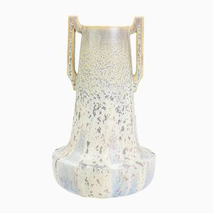 French Art Nouveau Sandstone Vase by Jean Langlade