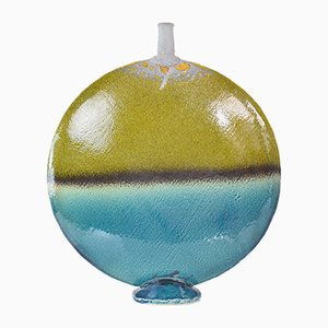 Vintage Round Ceramic Vase