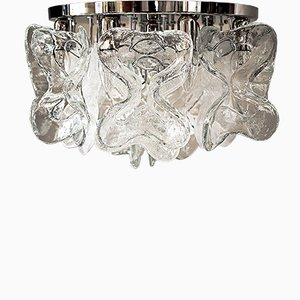 Large Catena Murano Glass Ceiling Light by J.T. Kalmar, 1960s