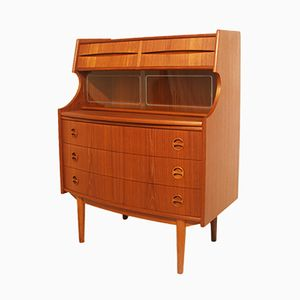 Vintage Danish Secretary by Gunnar Falsig for Möbelfabrik Holstebro