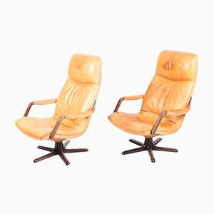 Lounge Chairs from Berg, 1970s, Set of 2