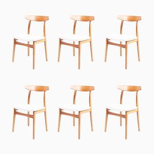 Rosewood Dining Chairs by Henning Kjærulff for Bruno Hansen, 1960s, Set of 6