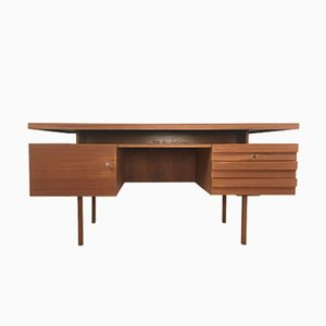 German Teak Desk from Bub Wertmöbel, 1960s