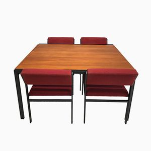 Mid-Century Japanese Series Dining Set by Cees Braakman for Pastoe