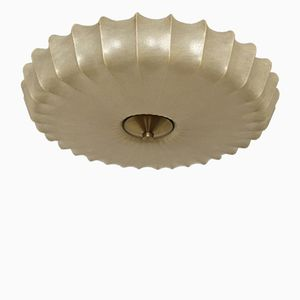 Cocoon Wall or Ceiling Lamp, 1950s