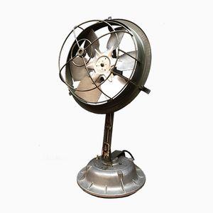 Französischer Handgemachter Industrieller Mid-Century Ventilator