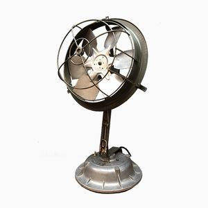 Mid-Century French Handmade Industrial Fan
