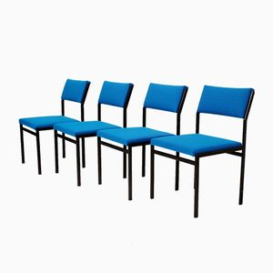 Japanese Series Dining Chairs by Cees Braakman for Pastoe, 1960s, Set of 4