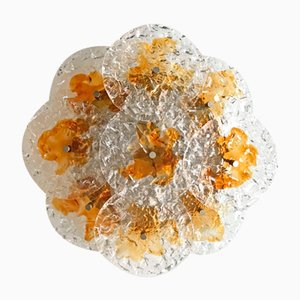 Mid-Century Ceiling Light by Carlo Nason for Mazzega