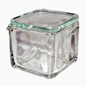 Kubus Glass Pitcher by Wilhelm Wagenfeld for Weißwasser, 1940s