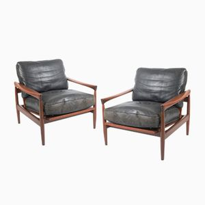 Vintage Kolding Easy Chairs by Erik Wørts for Ikea, Set of 2