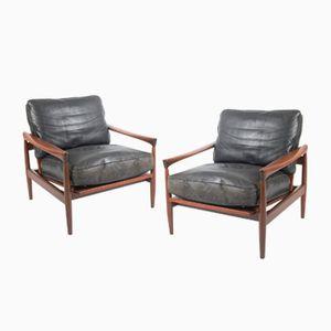Vintage Kolding Sessel von Erik Wørts für Ikea, 2er Set