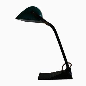 Belgian Enamel Desk Lamp from Erpe, 1930s