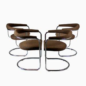 Vintage SS33 Stühle von Anton Lorenz für Thonet, 4er Set