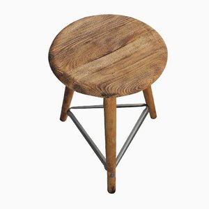 German Industrial Stool from Robert Wagner Chemnitz, 1930s