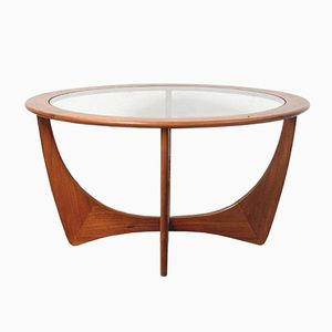 Astro Round Coffee Table by Victor Wilkins for G- Plan, 1960s