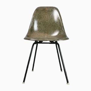 Grüner Vintage DSX Stuhl von Charles und Ray Eames für Herman Miller