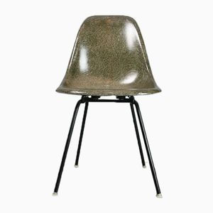 Vintage Forest Green DSX Chair by Charles and Ray Eames for Herman Miller