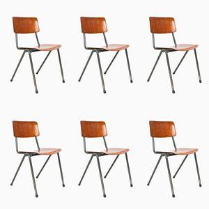 Klassenzimmerstühle von Marko Holland, 1970er, 6er Set