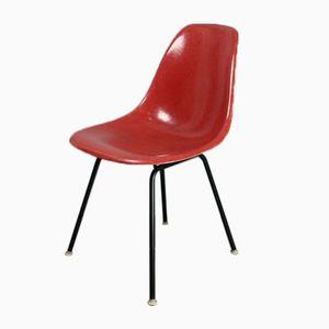 Vintage Terracotta Stuhl von Charles und Ray Eames für Herman Miller