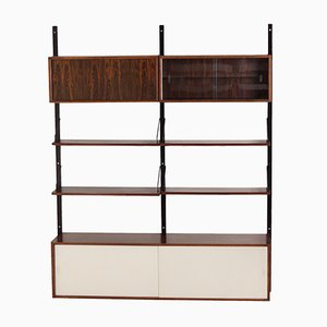 Royal Wall Unit in Rosewood by Poul Cadovius for Cado, 1960s