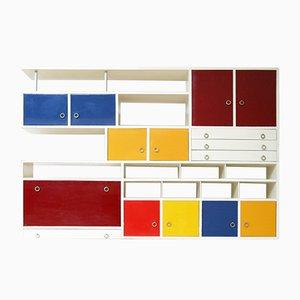 Modernist Wall Cabinet by K.L. Sijmons, 1950s