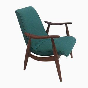 Scandinavian Teak Easy Chair by Louis van Teeffelen for Wébé, 1950s