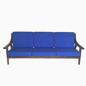 GE 530 Drei-Sitzer Sofa aus Eiche von Hans Wegner für Getama, 1970er